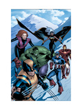 Marvel Two-In-One: Marvel Adventures Avengers No.15 Cover: Wolverine Prints by Kirk Leonard