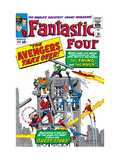 The Fantastic Four 26 Cover: Hulk Posters par Jack Kirby
