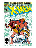 Uncanny X-Men Annual 11 Cover: Horde, Storm and Wolverine Affiches par Davis Alan