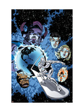 Marvel Adventures Fantastic Four 26 Cover: Silver Surfer Art by Smith Paul