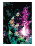 Uncanny X-Men 464 Cover: Psylocke and Marvel Girl Poster by Bachalo Chris
