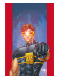 Ultimate X-Men No.1/2 Cover: Cyclops Art by Aaron Lopresti