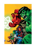 Fall of the Hulks: Gamma 1 Cover: Hulk Posters by McGuiness Ed