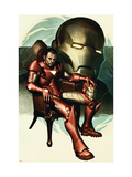 Iron Man #77 Cover: Iron Man, Stark and Tony Kunst van Adi Granov