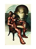 Iron Man No.77 Cover: Iron Man, Stark and Tony Art by Adi Granov