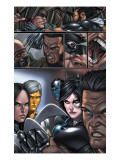 X-Force 8 Group: X-23, Wolverine and Domino Posters par Choi Mike