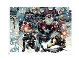 Free Comic Book Day 2009 Avengers 1 Group: Iron Patriot Art by Jim Cheung