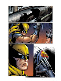 Cable & Deadpool 43 Headshot: Wolverine Prints by Ron Lim
