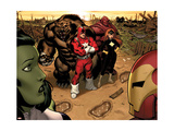 Hulk No.1 Group: Red Guardian, Ursa Major and Darkstar Poster by McGuiness Ed