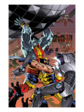 Uncanny X-Men: First Class 7 Cover: Colossus and Wolverine Art by Reilly Brown