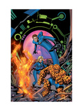 Fantastic Four No.534 Cover: Mr. Fantastic, Invisible Woman, Thing, Human Torch and Fantastic Four Prints by Mike McKone