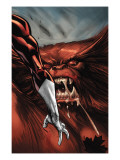 Omega Flight No.4 Headshot: Pointer, Michael and Sasquatch Art by Kolins Scott
