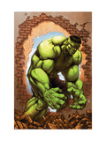 Marvel Age Hulk 3 Cover: Hulk Print by John Barber