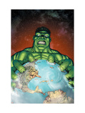 Incredible Hulk 106 Cover: Hulk Prints by Frank Gary