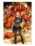 Marvel Adventures Super Heroes No.19 Cover: Invisible Woman Prints by Henrichon Niko