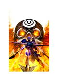Dark Reign: Hawkeye 4 Cover: Hawkeye Prints by Clint Langley