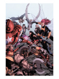 Dark Avengers/Uncanny X-Men: Exodus No.1 Cover: Colossus Posters by Steve MCNiven