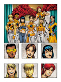 New X-Men: Academy X Yearbook Group: Prodigy Prints by Jeanty Georges
