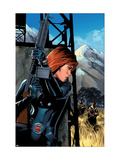 Black Widow No.5 Cover: Black Widow Print by Greg Land