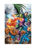 Marvel Adventures Fantastic Four No.0 Group: Mr. Fantastic Posters by Carlo Pagulayan
