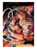 Wolverine Origins 38 Cover: Wolverine and Omega Red Posters by Doug Braithwaite