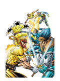 X-Force Volume 2 No.3 Cover: Shatterstar, Sunspot, Cable and X-Force Posters by Rob Liefeld