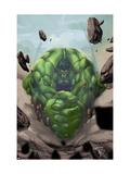 Gamma Games No.2 Cover: Hulk Prints