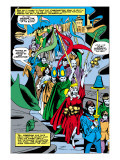 Tales to Astonish No.76 Group: Marvel Universe Poster by Vince Colletta