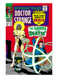 Strange Tales No.158 Cover: Dr. Strange and Living Tribunal Posters by Marie Severin