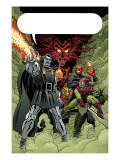 X-Men: First Class 11 Group: Dr. Doom, Mephisto and Green Goblin Art by Dragotta Nick