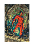 Daredevil No.100 Cover: Daredevil Kunstdrucke von Michael Turner