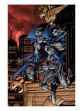 Marvel Adventures Spider-Man 29 Cover: Spider-Man and Grey Gargoyle Posters by Mhan Pop