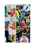 Avengers 148 Group: Iron Man Poster by George Perez