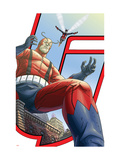 Avengers: Earths Mightiest Heroes No.5 Cover: Giant Man and Wasp Prints by Scott Kolins