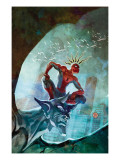 Marvel Adventures Spider-Man 48 Cover: Spider-Man Kunst von Francis Tsai