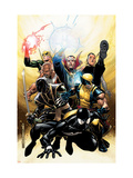 New Avengers Annual No.2 Cover: Spider-Man, Wolverine, Ronin and Dr. Strange Prints by Jim Cheung
