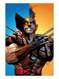 Wolverine: Origins #26 Cover: Wolverine and Daken Pósters por Greg Land