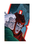 Avengers: Earths Mightiest Heroes 7 Cover: Quicksilver and Scarlet Witch Print