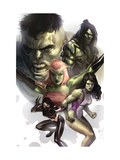 Hulk Family: Green Genes 1 Cover: Hulk, She-Hulk, Skaar, Scorpion and Daughter Of Hulk Posters