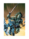 Skaar: Son Of Hulk 8 Cover: Skaar and Silver Surfer Posters by Yardin David
