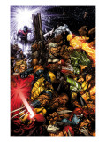 X-Men 207 Cover: Wolverine and Cable Posters par David Finch