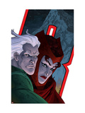Avengers: Earths Mightiest Heroes No.7 Cover: Quicksilver and Scarlet Witch Posters by Kolins Scott