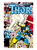 Thor No.339 Cover: Beta-Ray Bill Art by Walt Simonson