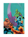 Marvel Age Fantastic Four No.11 Cover: Impossible Man Prints by Green Randy