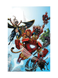 Marvel Adventures The Avengers 38 Cover: Iron Man Prints by Casey Jones