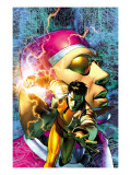 Marvel Comics Presents No.8 Machine Man Cover: Machine Man Prints by Brandon Peterson