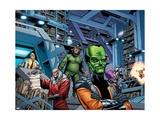 Fall of the Hulks: Alpha 1 Group: Egghead, Red Ghost, Mad Thinker and Leader Poster by Pelletier Paul