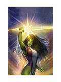 She-Hulk: Cosmic Collision 1 Cover: She-Hulk Posters by Sejic Stjepan