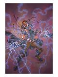 Excalibur No.3 Cover: Omega Sentinel Print