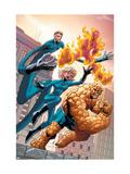 Marvel Age Fantastic Four No.4 Cover: Mr. Fantastic Prints by Makoto Nakatsuka
